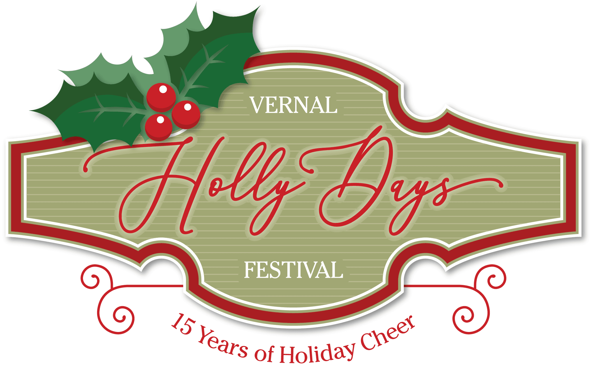 New Holly Days Logo